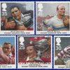 سری تمبر صدمین سالگرد لیگ راگبی انگلستان 1995